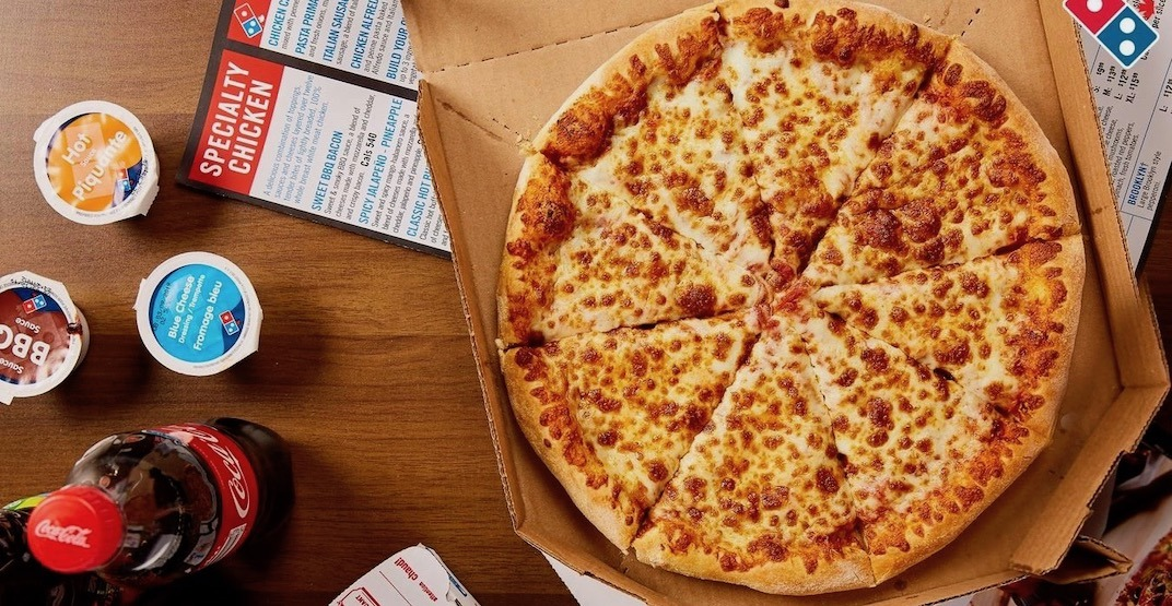 Domino's is offering 50% off pizzas across Canada all week long