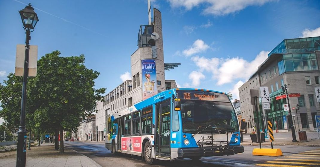 New STM express bus offers commuters new option to get downtown starting today