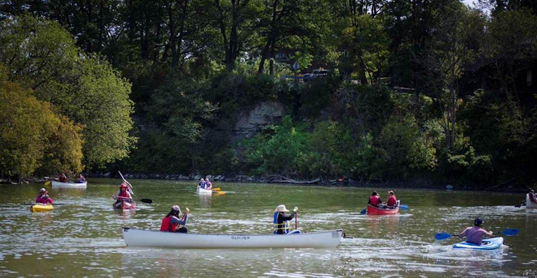 You can paddle along the Humber River for free next month