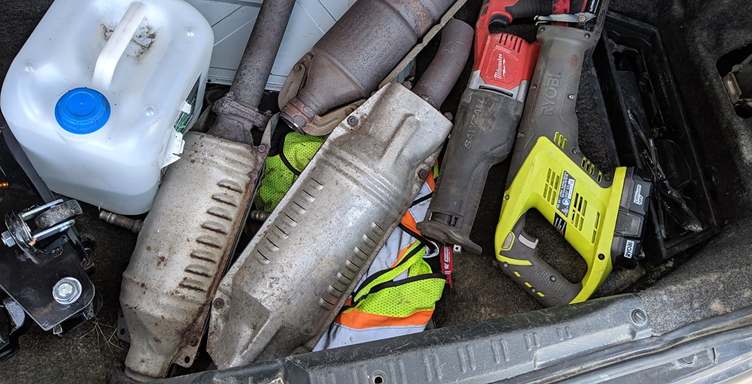 2 men facing charges in catalytic converter thefts in Metro Vancouver