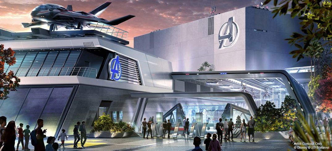 Disney California Adventure Avengers Campus