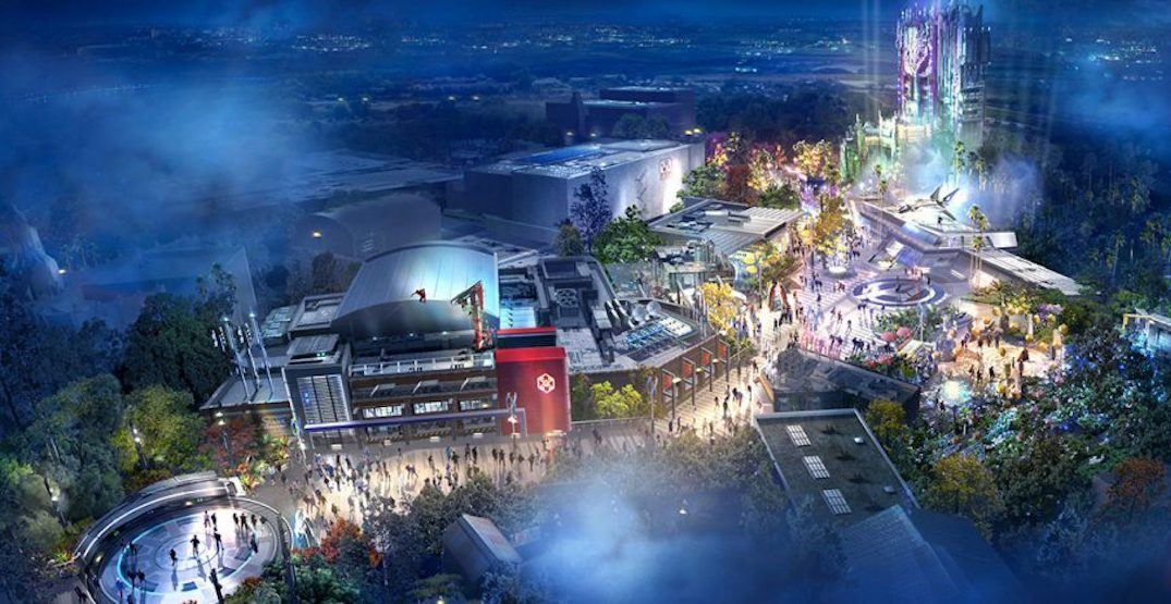 Massive 'Avengers Campus' announced for Disneyland Resort in Anaheim