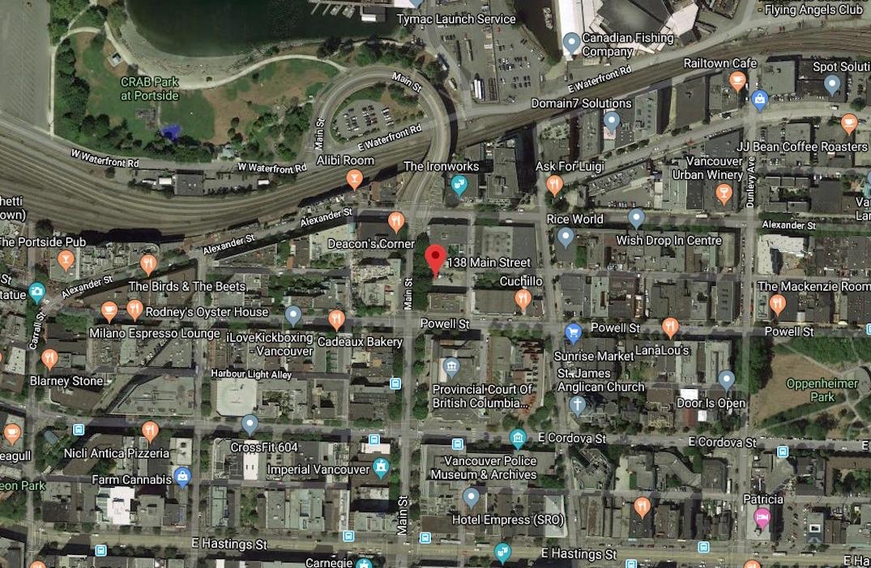 138 Main Street Vancouver