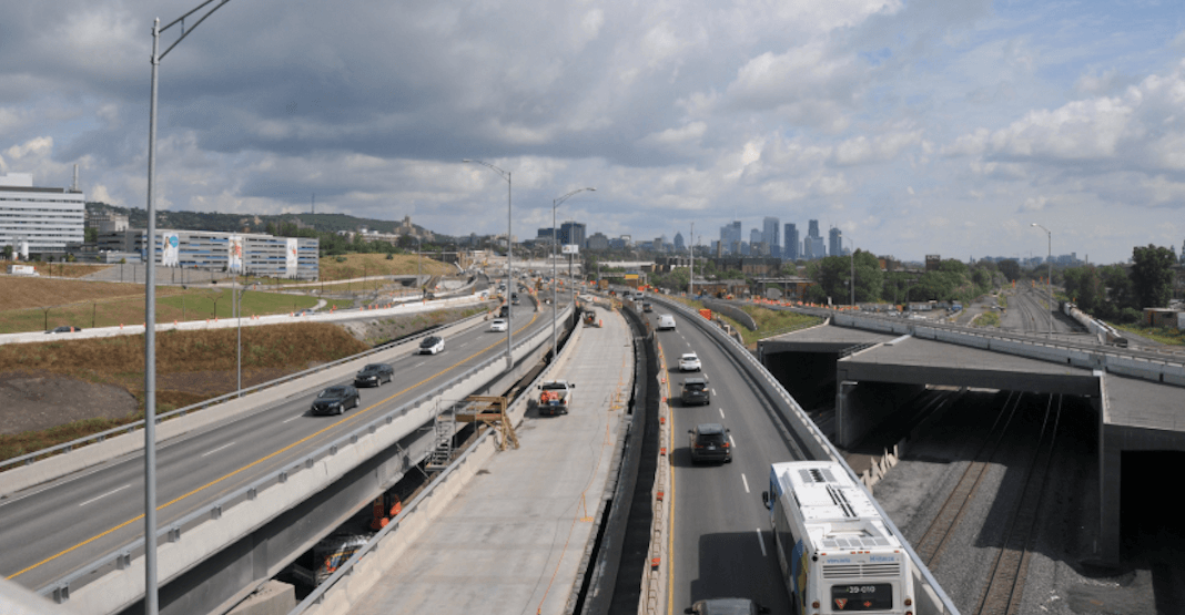 New Turcot Interchange access ramp just opened to Montreal commuters