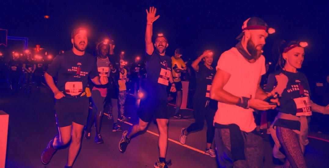 Calgary's illuminated ULTRA Night Run is returning next weekend