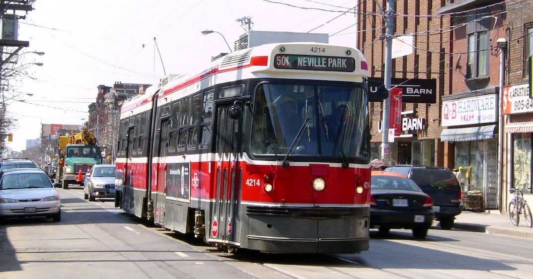 The last two bending TTC streetcars are being retired this weekend