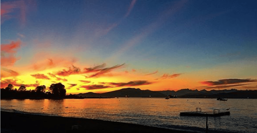 22 photos of last night's stunning sunset in Vancouver