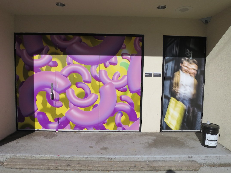 Canvas Corridor Eihu Lane Vancouver art walk