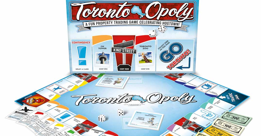 There's now a Toronto-themed version of Monopoly