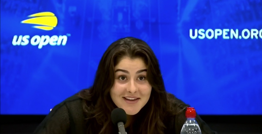 Bianca Andreescu's reaction to her new world ranking was priceless (VIDEO)