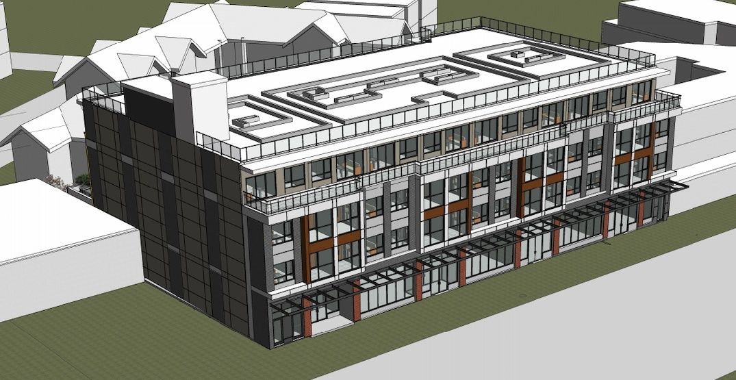 New homes and retail to replace Kingsway strip mall in Vancouver