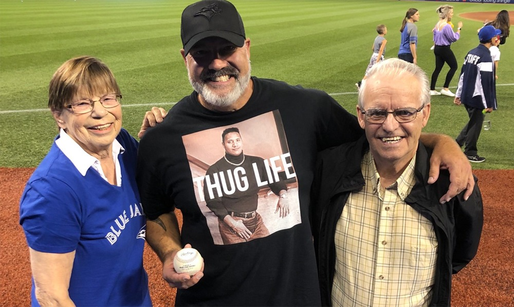 Meet the man who made the viral catch at the Blue Jays game