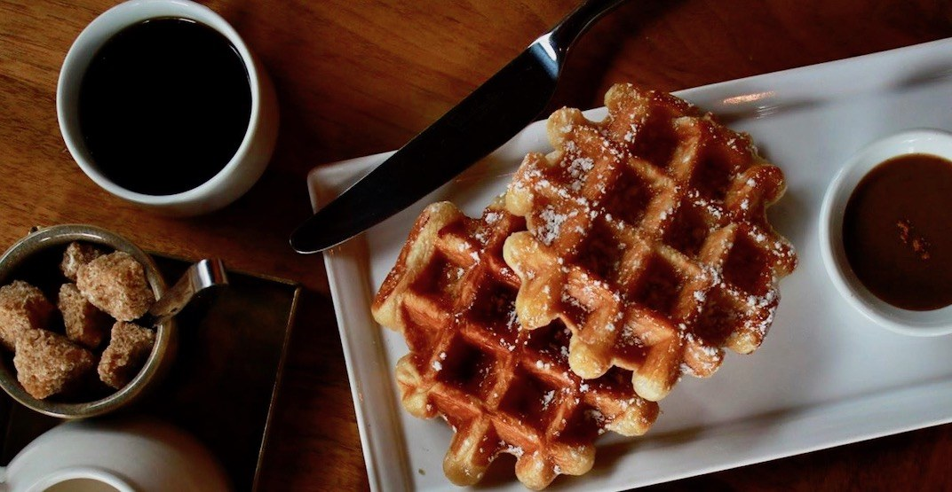 This Vancouver eatery is giving out its famous waffles for FREE this weekend