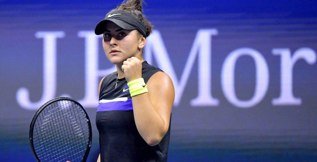 Bianca Andreescu win sends her to US Open quarter-finals