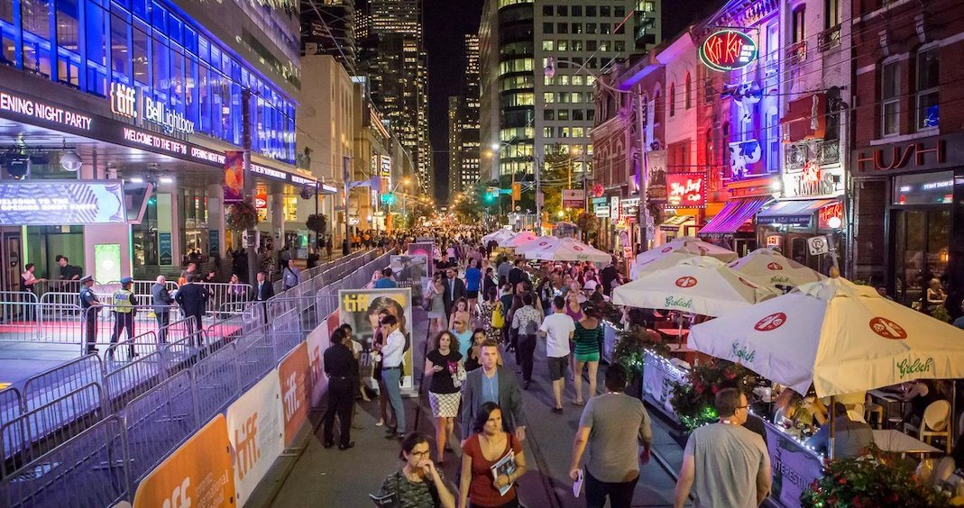 Get ready for a number of road closures during TIFF