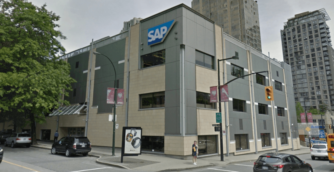 sap vancouver office