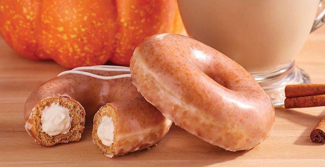 Krispy Kreme is serving up pumpkin spice donuts this week
