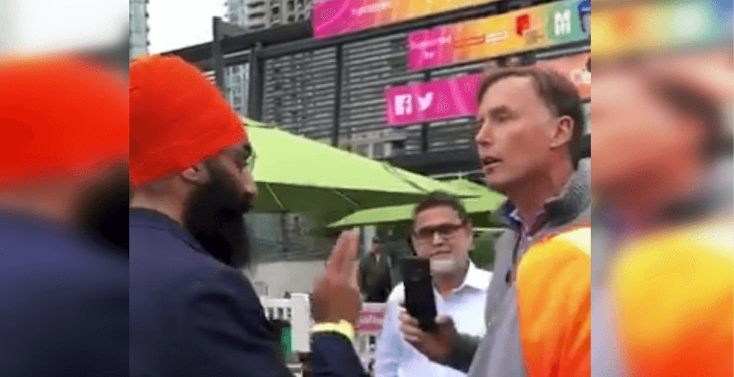 """Jagmeet Singh """"proud"""" of brother for confronting Islamophobic heckler (VIDEO)"""