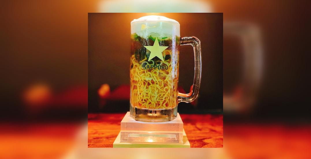 'Beer Ramen' is on the menu at this Toronto restaurant