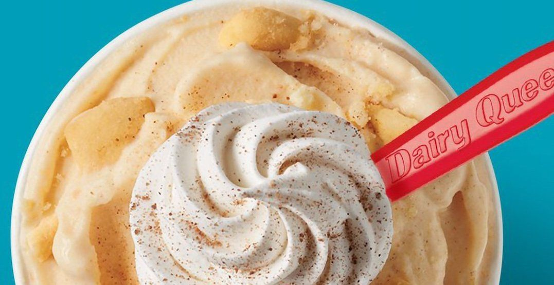Dairy Queen is serving up a Pumpkin Pie Blizzard for this month only