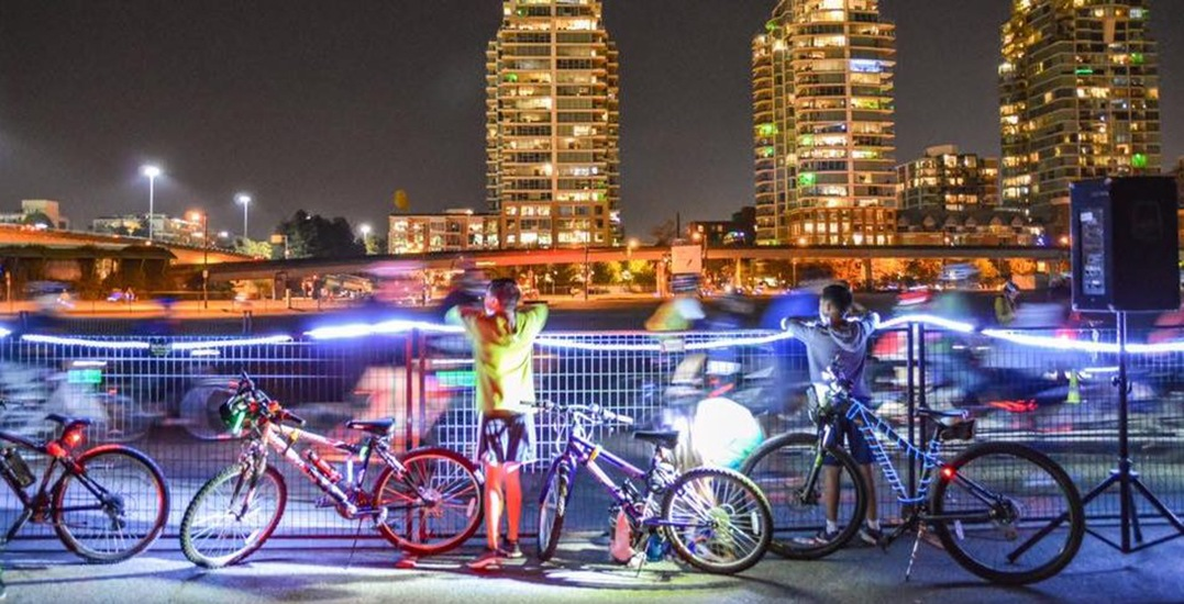 Bike the Night returns to Vancouver this weekend