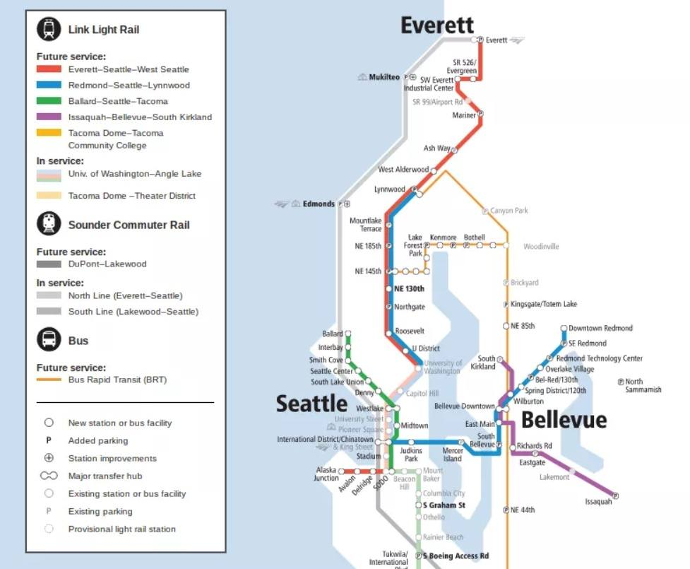 Seattle Link Sound Transit