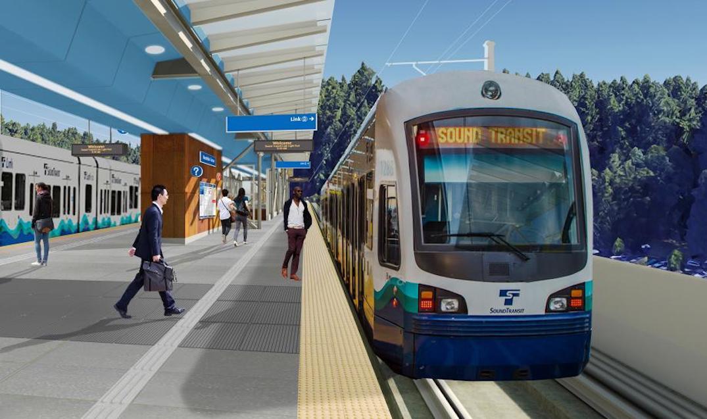 Seattle Sound Transit Link Rail
