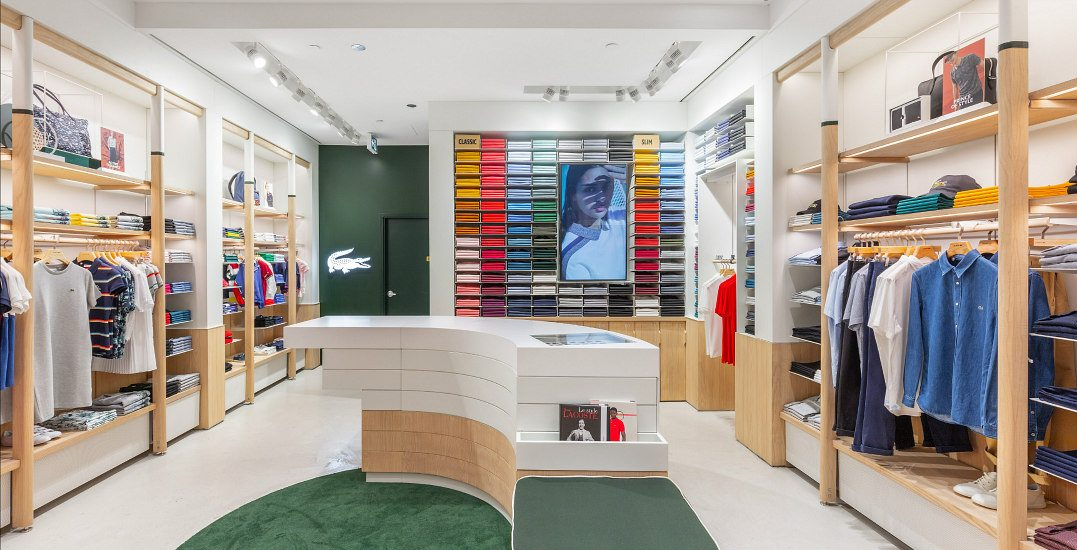 Lacoste opens Canadian concept store in Metro Vancouver