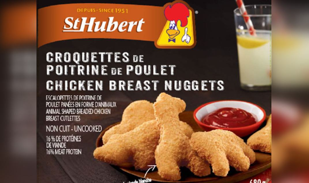 """St-Hubert chicken nuggets recalled due to """"presence of bone fragments"""""""