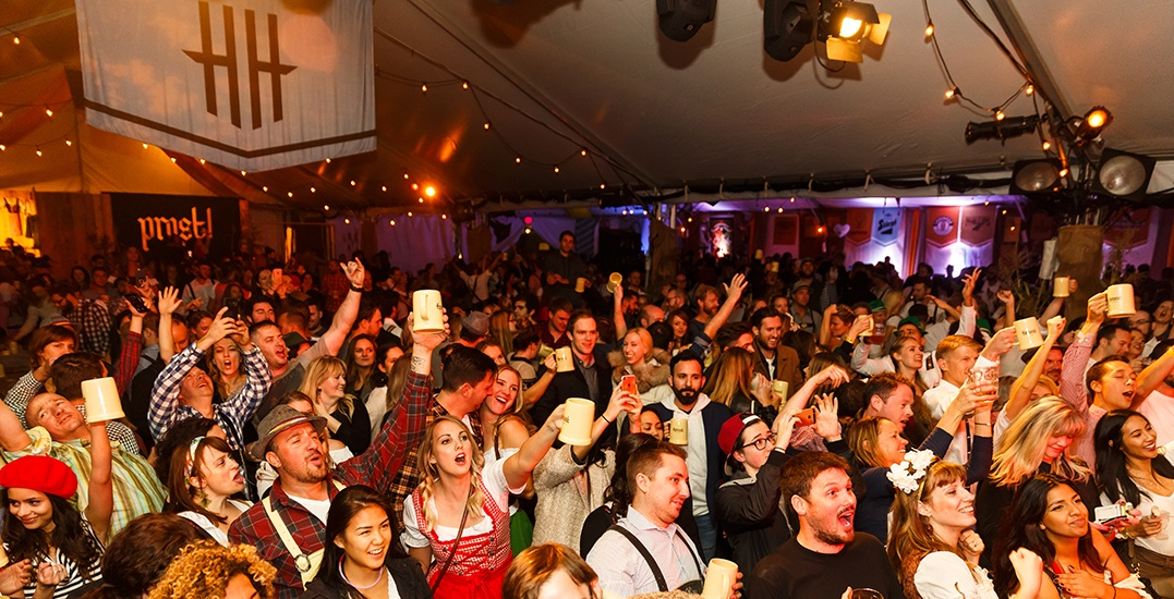 Tickets to Vancouver's largest Oktoberfest party, Harvestland, on sale now (CONTEST)