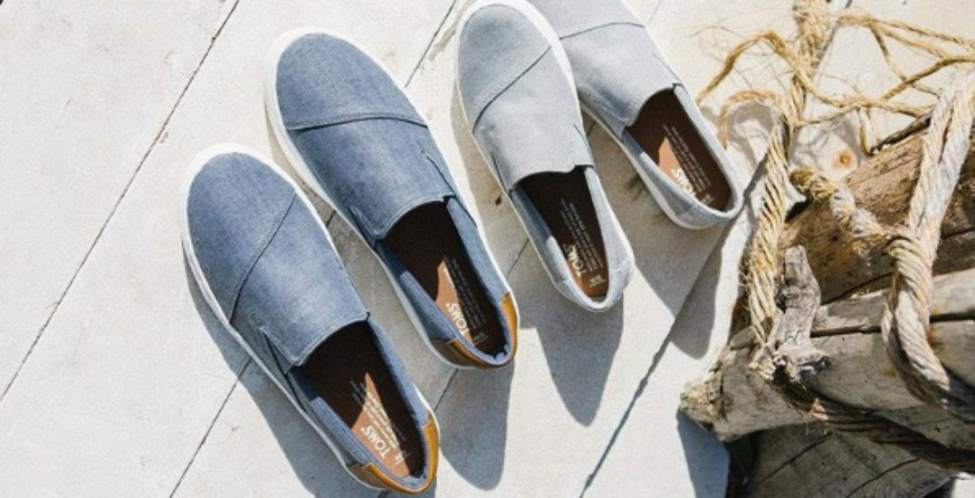Save up to 70% at Toronto's TOMS warehouse sale