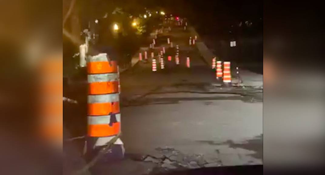 Viral tweet compares Montreal roads to 'Mario Kart' course (VIDEO)