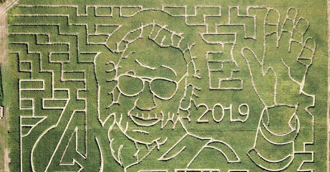 You can now get lost in a Marvel-themed corn maze near Toronto