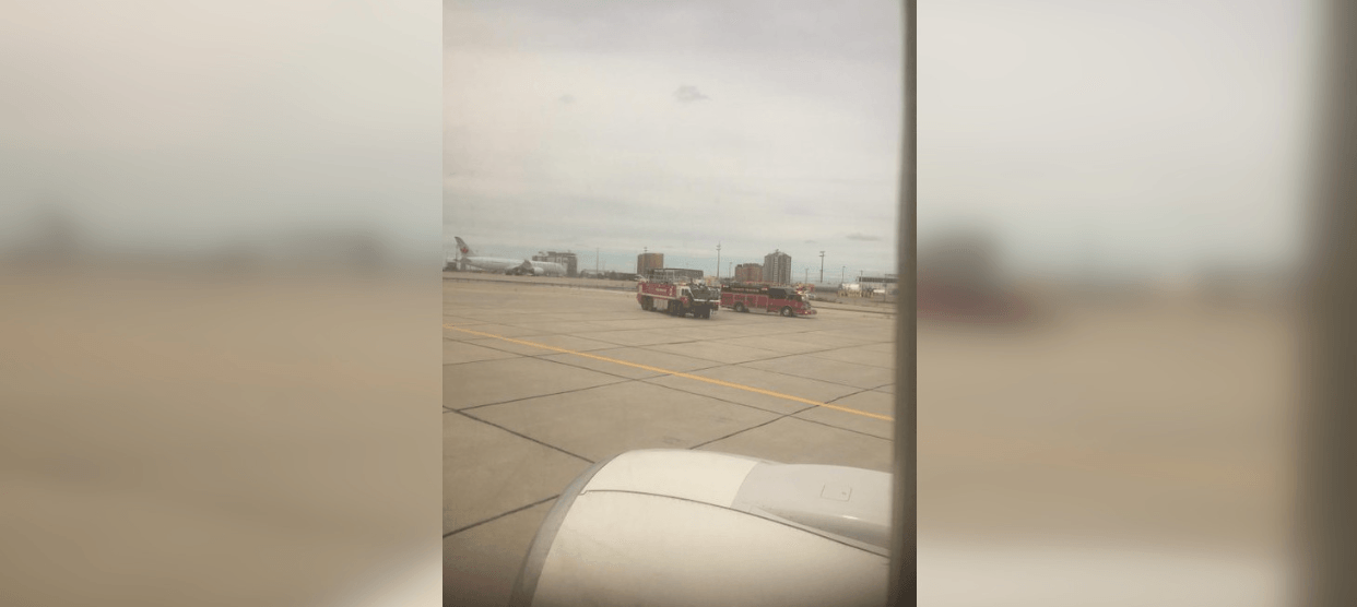 Sunwing flight suffers blown tire while landing at Toronto Pearson Airport