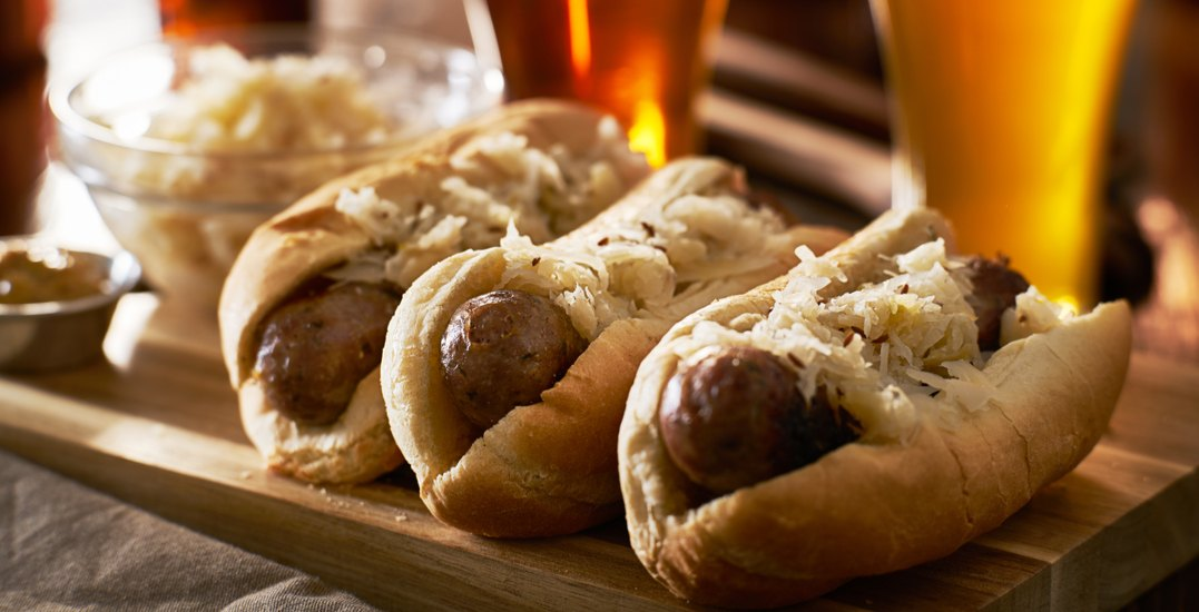 This Ontario Oktoberfest celebration is serving up beer-infused bratwurst