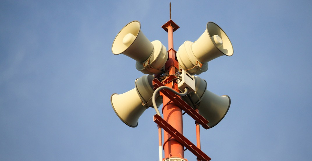 Montreal to test city-wide emergency warning sirens this week