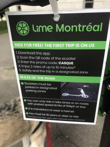 Lime Montreal