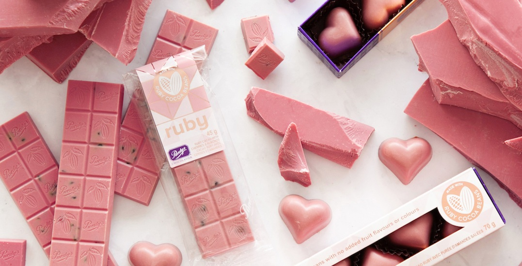 Purdys' new ruby confections will have you seeing pink