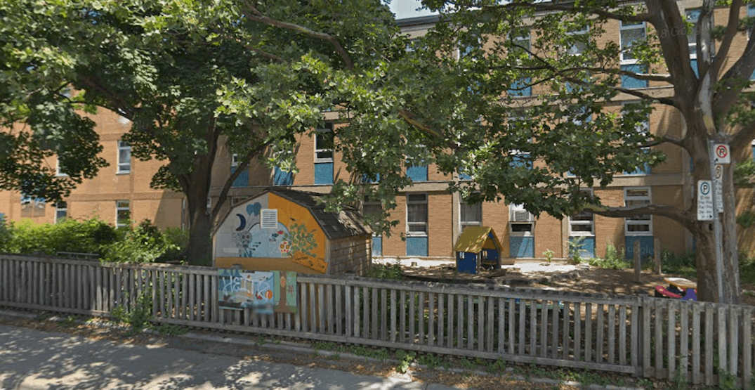 Discarded syringe found by child on west-end school grounds