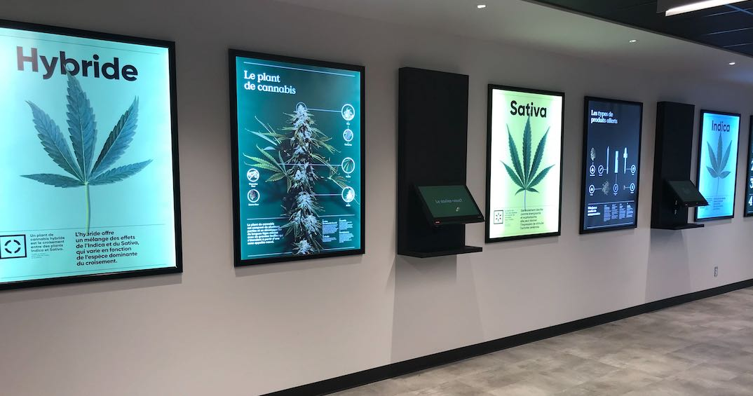 A look inside Montreal's newest SQDC dispensary (PHOTOS)