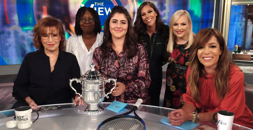 Bianca Andreescu takes to America's biggest talk shows (VIDEOS)