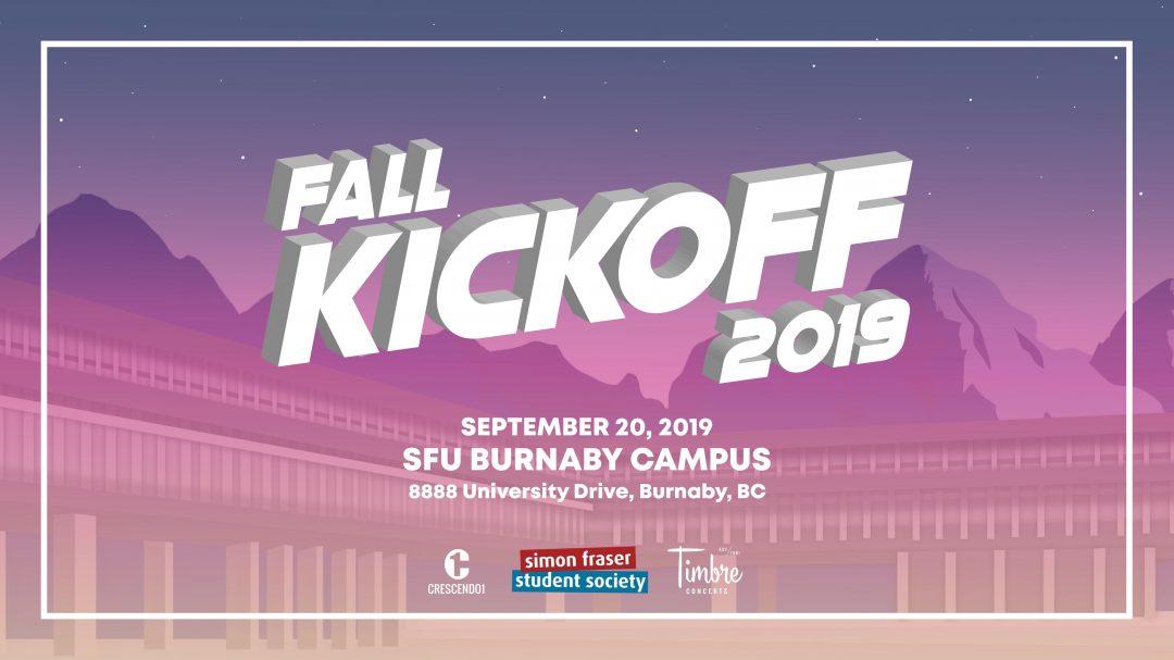 SFU Fall Kick-Off