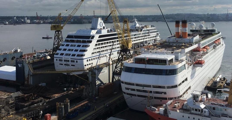 Seaspan North Vancouver shipyards