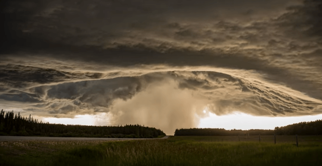 Here's what it looks like to be an Albertan storm chaser (VIDEO)