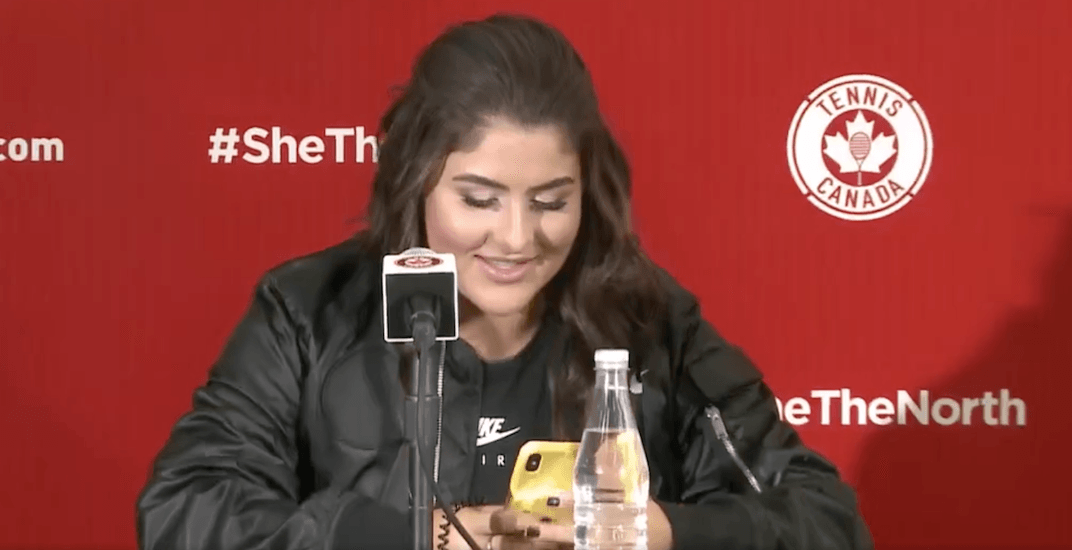 Bianca Andreescu reads text received from Drake after she called him out (VIDEO)