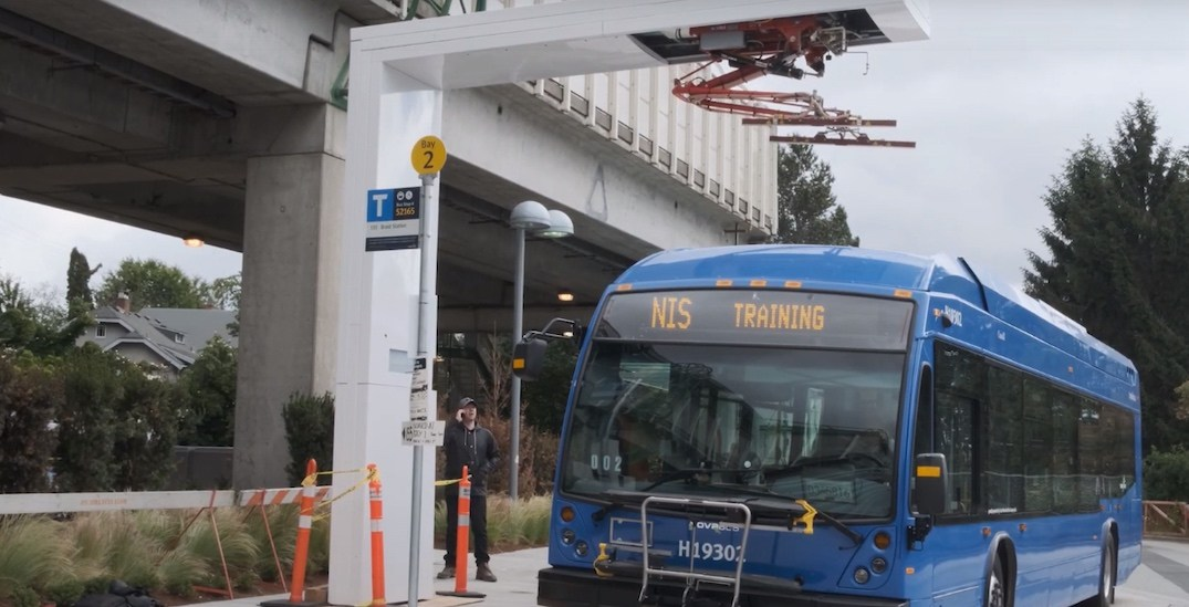 TransLink electric-battery bus