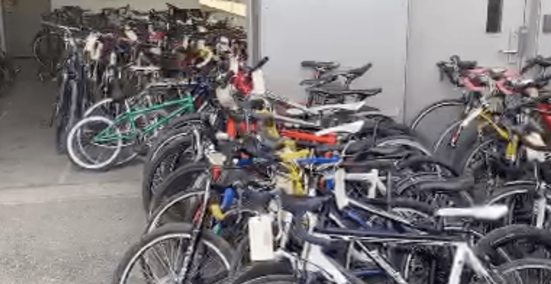 VPD recover 148 stolen bicycles from East Vancouver storage facility