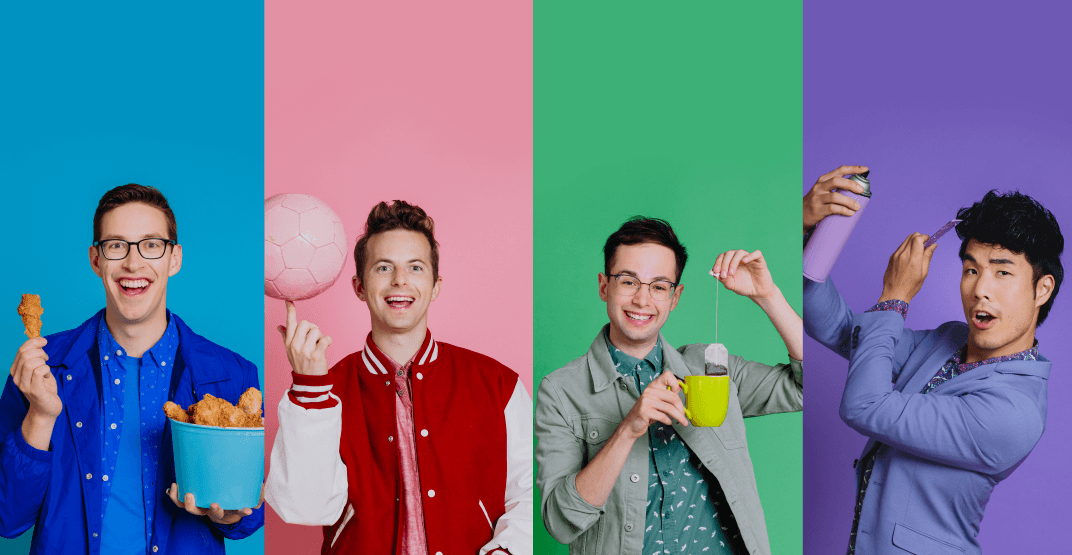 Win tickets to see The Try Guys in Vancouver this fall (CONTEST)