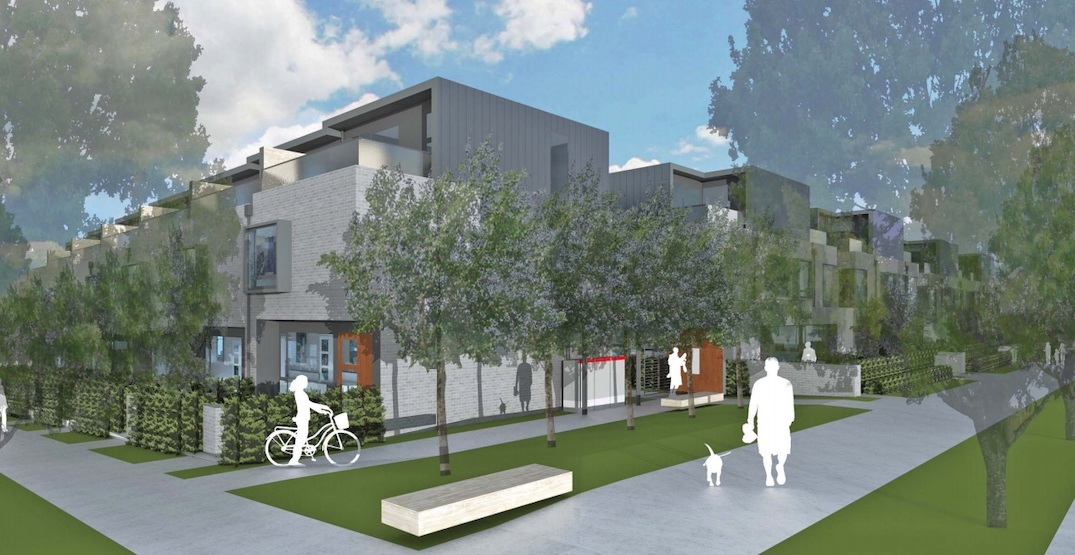 36 townhouses proposed for Oak Street in Vancouver