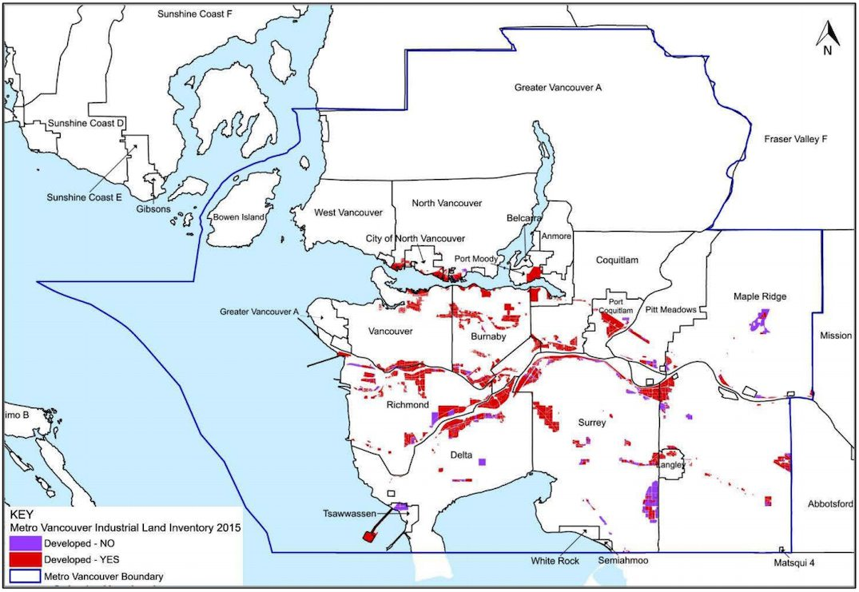 Metro Vancouver industrial